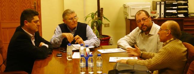 Encuentro entre IP y representantes de La Xara y Benimamet