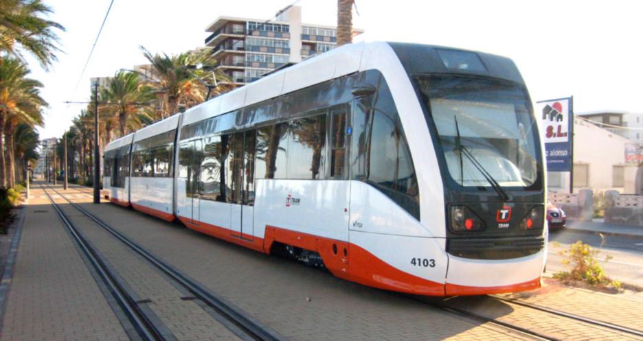 El tren -TRAM de Alicante, ha acreditado la versatilidad de este medio de transporte