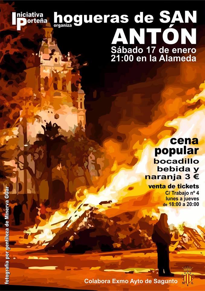 Cartel Hoguera 2015