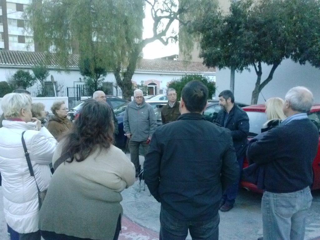 Reunión con los vecinos del Barrio Obrero