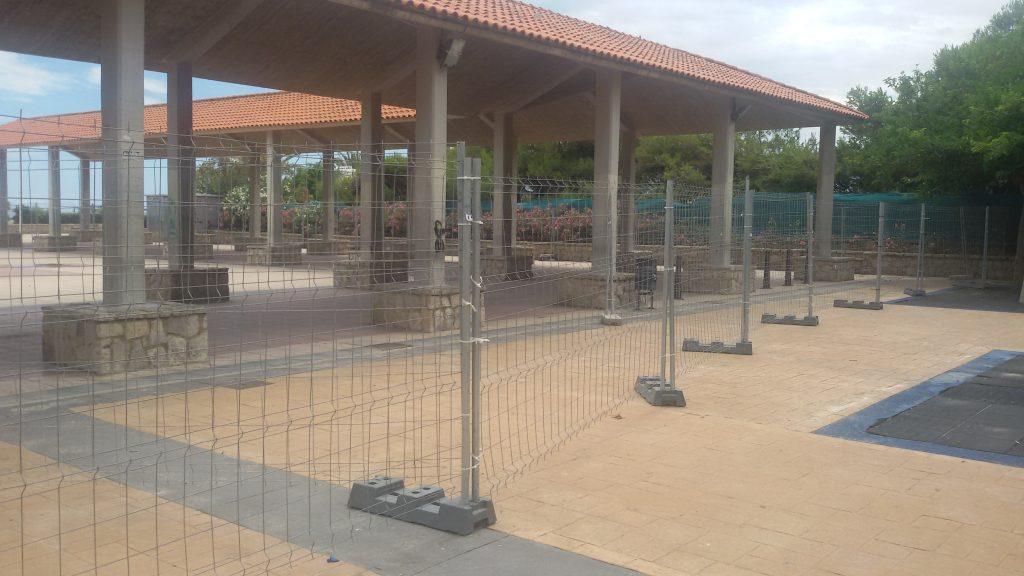 Estado actual de la Plaza de la Concordia
