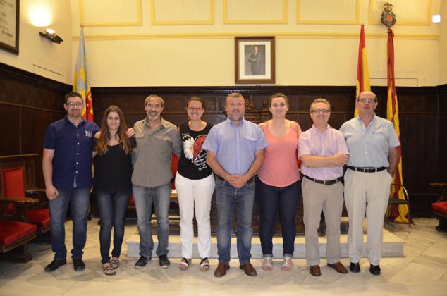 Equipo de Gobierno del Ayuntamiento de Sagunto. (Imagen: Gabinete de Prensa de l Ayuntamiento de Sagunto)