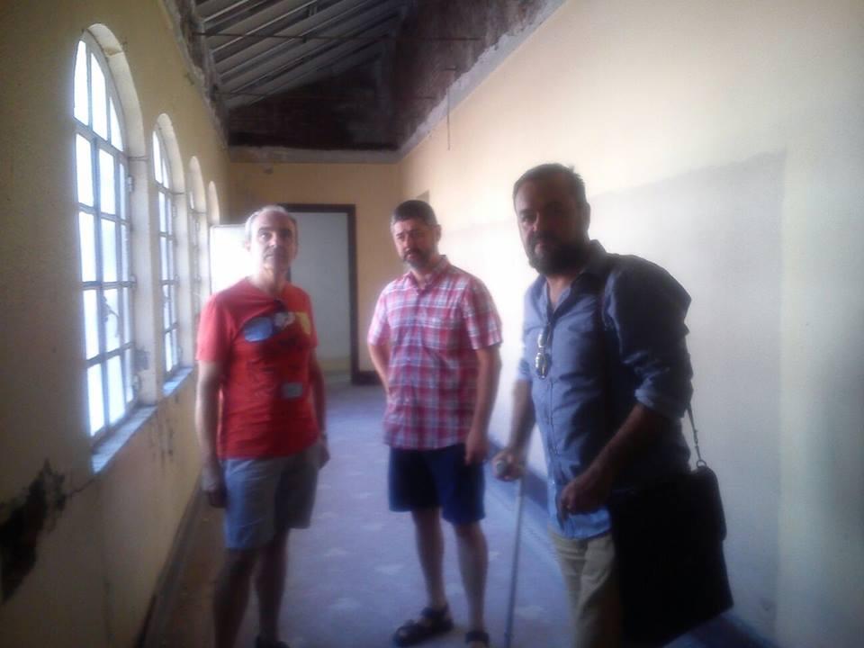 Visita que realizaron los concejales de Iniciativa Porteña a la primera planta del Casino
