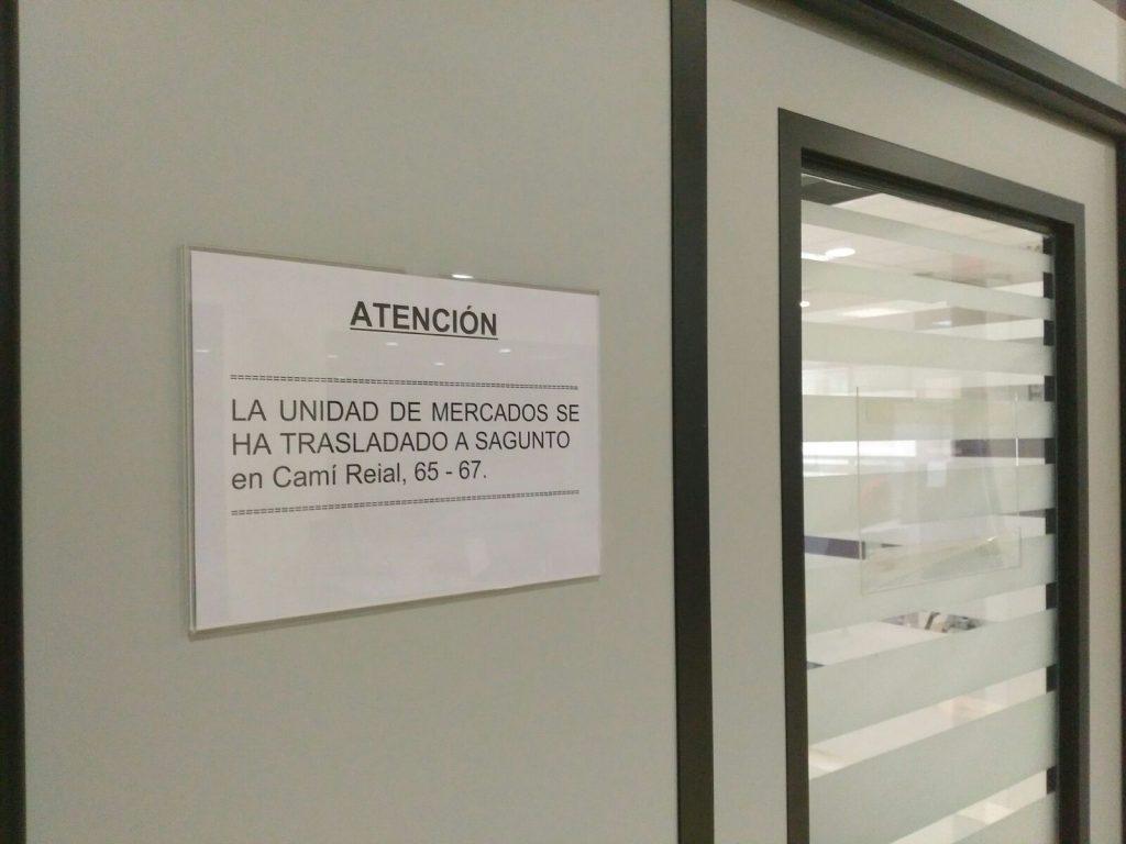 Unidad de Mercados cerrada en El Puerto