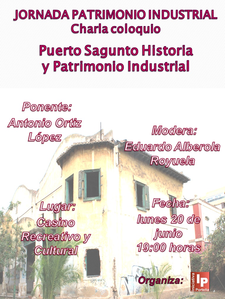 Cartel Jornada Patrimonio Industrial - jpg